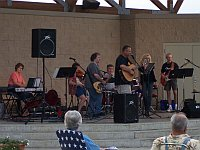 Crossfire performs at the Bandshell at Lunda Park